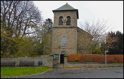 St John's Chapel, Weardale, County Durham, UK - 2018.
