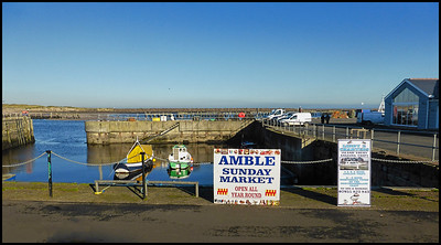 Amble To Hauxley, Northumberland, UK - 2018.