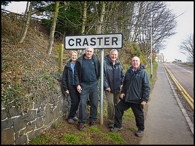Craster To Embleton Bay Walk, Northumberland, UK - 2019.