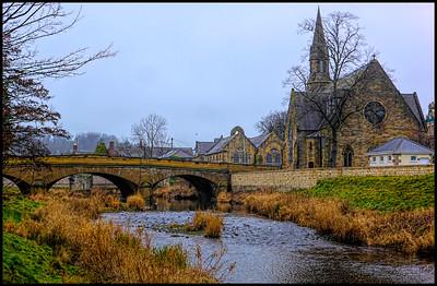 Morpeth, Northumberland, UK - 2019.