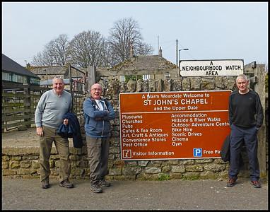 St John's Chapel, County Durham, UK - 2019.