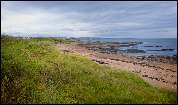 Amble To Hauxley, Northumberland, UK - 2019.