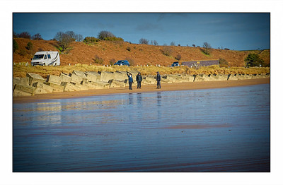 Alnmouth To Boulmer, Northumberland, UK - 2020.