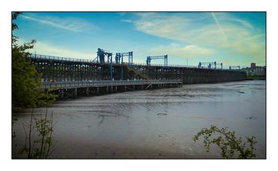 Dunston To Newcastle Walk, Tyne & Wear, UK - 2020.