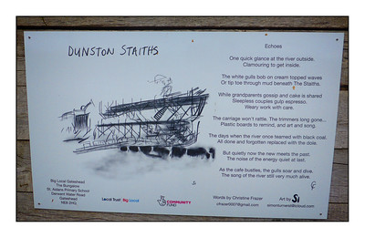 Dunston To Newcastle Walk, Tyne & Wear, UK - 2020.