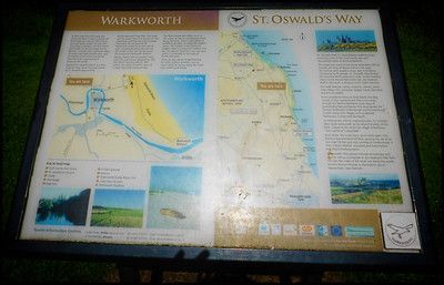 Warkworth To Alnmouth Walk, Northumberland, UK – 2020.