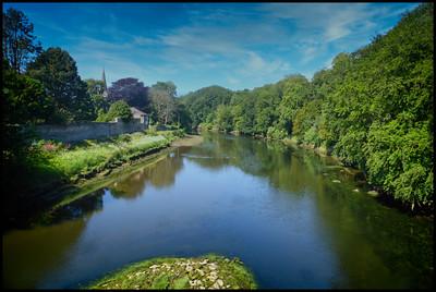 Warkworth To Alnmouth Walk, Northumberland, UK – 2020.