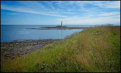 Seaton Sluice To Holywell Dene Walk, Northumberland, UK - 2020.