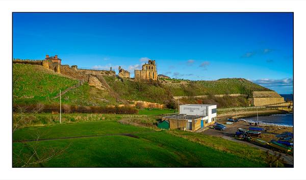 North Shields To Whitley Bay Walk, Tyne & Wear, UK - 2020.
