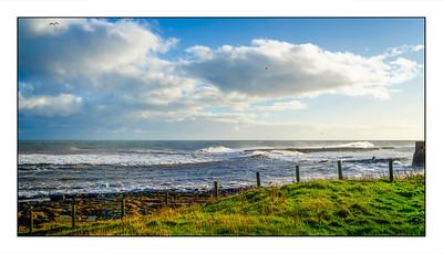 Craster To Embleton Bay Walk, Northumberland, UK - 2020.