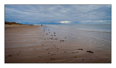 Alnmouth To Boulmer, Northumberland, UK - 2020.