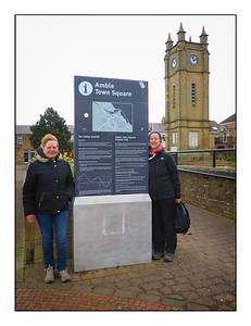 Amble To Hauxley Walk, Northumberland,  UK - 2021.
