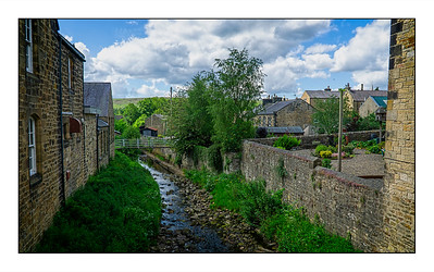 Hareshaw Linn Walk, Bellingham, Northumberland, UK - 2021.