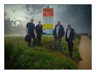 Seaton Sluice To Blyth Walk, Northumberland, UK - 2021.