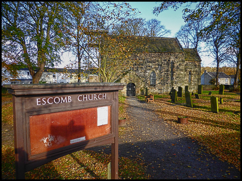Escomb, Co Durham, UK - 2017.