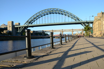 The Quayside, Newcastle on Tyne, UK - 2012
