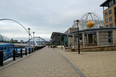 Quayside, Newcastle upon Tyne, Tyne & Wear - UK 2013