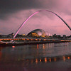 Quayside Nights, Newcastle upon Tyne, Tyne & Wear - UK 2013