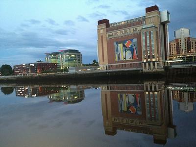Quayside Nights, Newcastle upon Tyne, Tyne & Wear - UK 2013