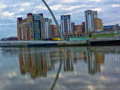 Quayside, Newcastle upon Tyne, Tyne & Wear - UK 2013.