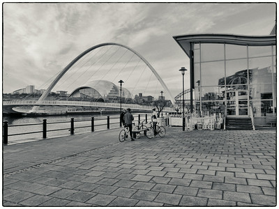 Newcastle Quayside, Newcastle On Tyne, UK - 2014