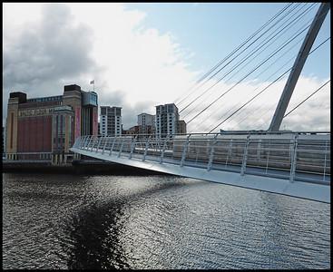 Newcastle Quayside, Newcastle on Tyne, Tyne & Wear, UK - 2018.
