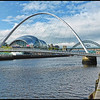 Newcastle Quayside, Newcastle on Tyne, Tyne & Wear, UK - 2018.