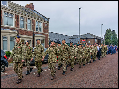 Remembrance Sunday, Gateshead, Tyne & Wear, UK - 2018.