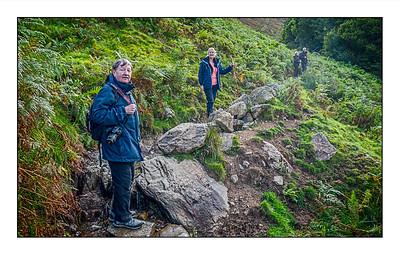 Patterdale To Angle Tarn Walk, Cumbria, UK - 2020.