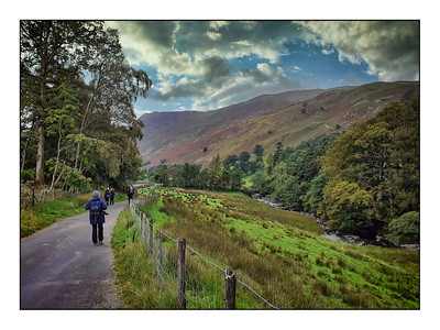 Patterdale To Grisedale Tarn Walk, Cumbria, UK - 2020.