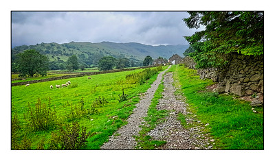 Patterdale To Brothers Water Walk, Cumbria, UK - 2021.