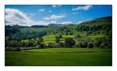 Patterdale To Sheffield Pike Walk, Cumbria, UK - 2021.