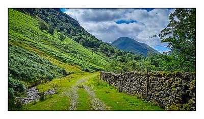Patterdale To Hayeswater Walk, Cumbria, UK - 2021.