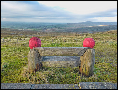 Hartside Summit, Cumbria, UK - 2018.