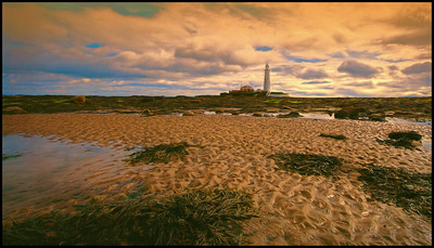 Whitley Bay, Northumberland Coast, UK - 2016