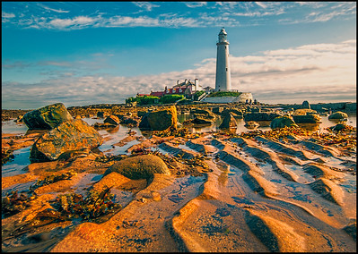 Whitley Bay, Northumberland Coast, UK - 2016.