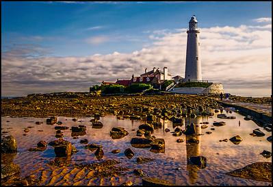 Whitley Bay, Northumberland Coast, UK - 2016.