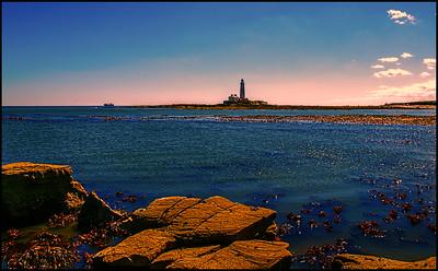Hartley Bay, Northumberland Coast, UK - 2016.