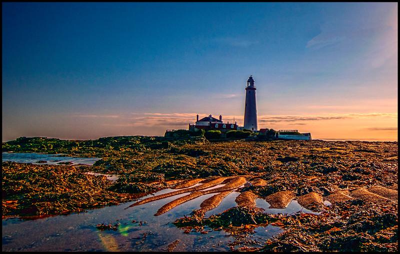Whitley Bay, Northumberland Coast, UK - 2016