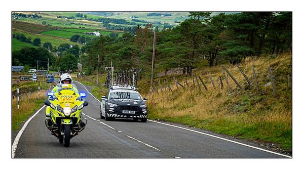 Tour Of Britain, Killhope, County Durham, UK - 2021.
