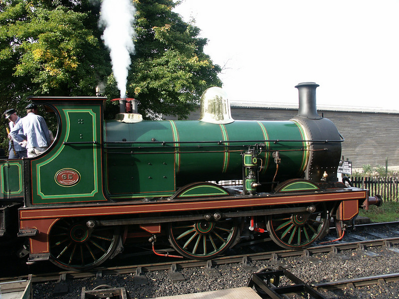 South East and Chatham Railway Class O1 No.65 at Sheffield Park Depot.
