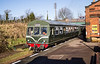 Class 101 DMU at Rothley