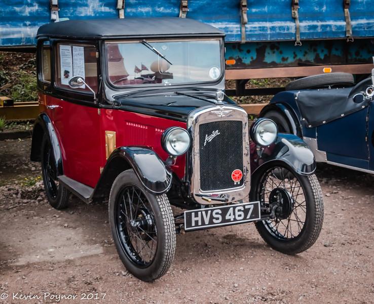 1931 Austin 7 Box Saloon.