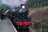 LNER B1 Locomotive No. 61264 built 1947 by the North British Locomotive Company. The B1 was designed by Edward Thompson for the LNER.<br /> <br /> 61264 is seen here approaching Rothley station from Loughborough.