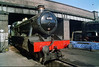 """Great Western """"Hall"""" Class No. 6990 """"Witherslack Hall"""", Loughborough Central Shed."""