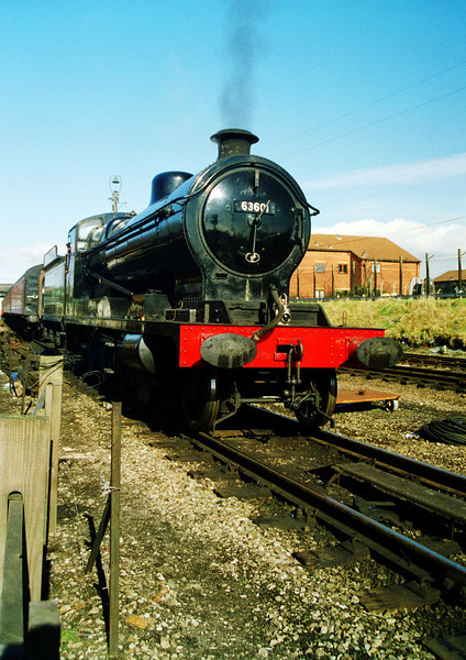 Great Central class O4 No. 63601 at Loughborough Central.