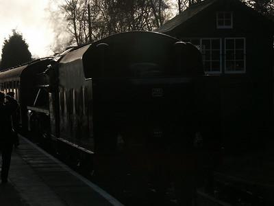 Great Central Railway 28 Dec 2003