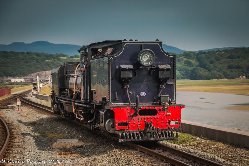 NG87 ex-South African railways 2-6-2+2-6-2 Garrett