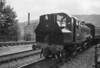 LMS 2MT No. 41241 approaches Keighley bunker first