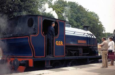 Lakeside and Haverthwaite Railway 1984